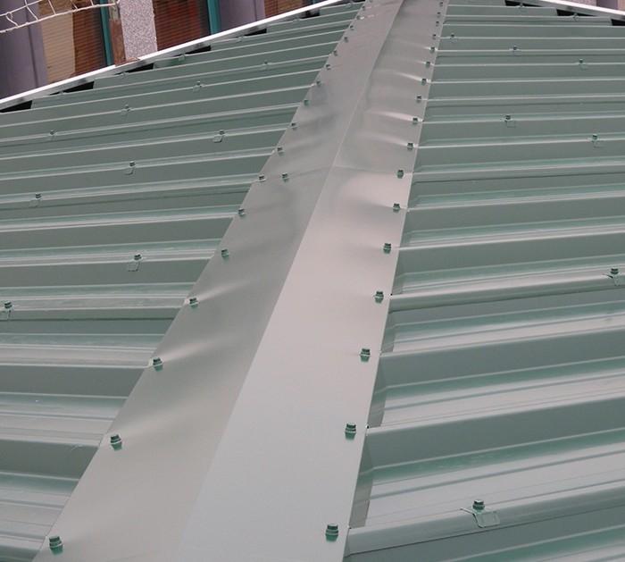 Le Flocage Anti Condensation des Murs et Bac / Bardage en métal