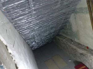 traitement coupe feu en sous face d'escalier
